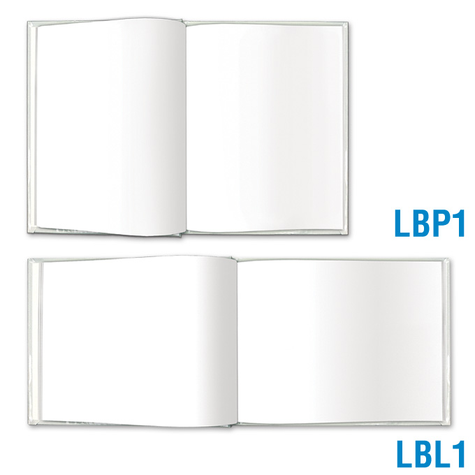 Blank Book Large - All Blank Pages: click to enlarge