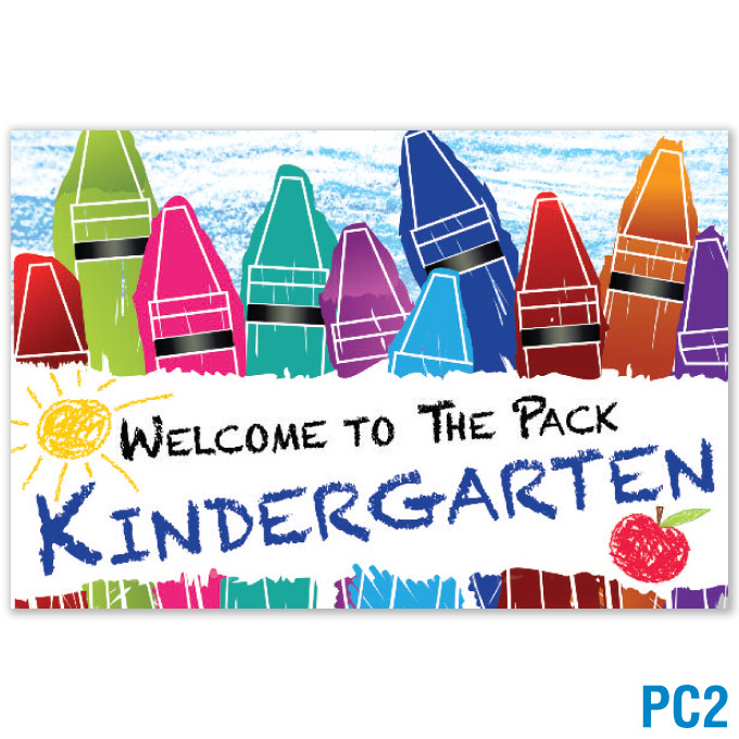 Welcome to Kindergarten Postcard: click to enlarge