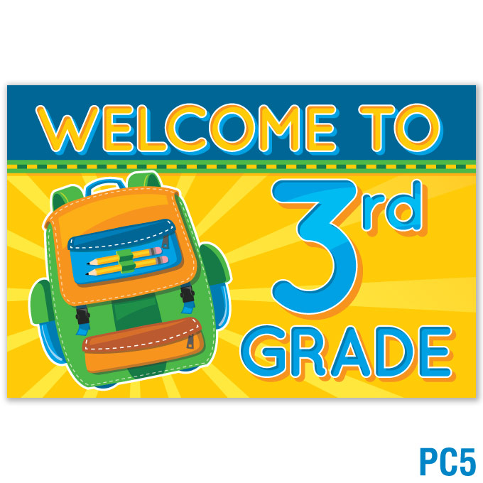 Welcome to 3rd Grade Postcard: click to enlarge