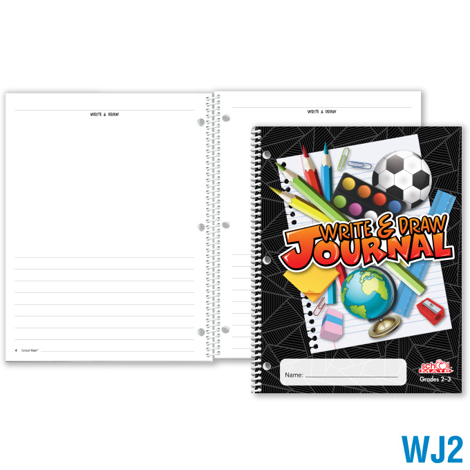 Write & Draw Journal (Grades 2–3): click to enlarge
