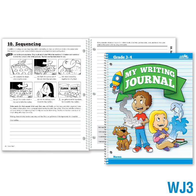 My Writing Journal (Grades 3–4): click to enlarge