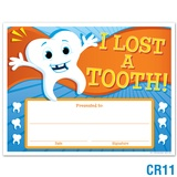 I Lost A Tooth Award