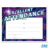 Excellent Attendance Certificate