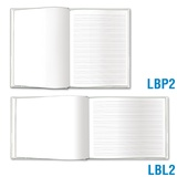 Blank Book Large - Blank & Primary-Lined Pages