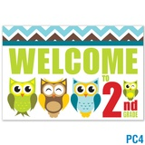 Welcome to 2nd Grade Postcard