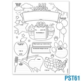Make-It-Mine® All About Me Poster Set 2