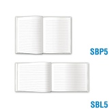 Blank Book Small - All Solid-Lined Pages