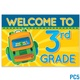 Welcome to 3rd Grade Postcard