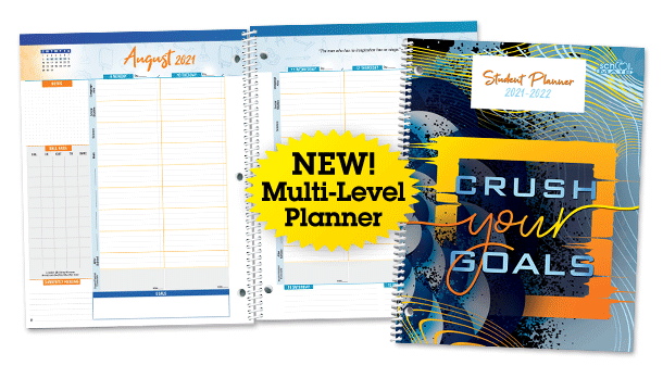 Navigator Multi-level Student Planner