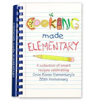 Other Products Custom Cookbook Fundraising School Mate - Writing a cookbook template