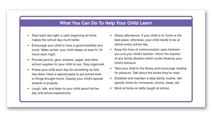 P10 - Help Your Child Learn