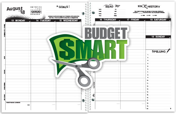 Budget Classic Student Planner