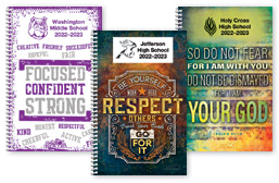 High School Planner Cover Choices