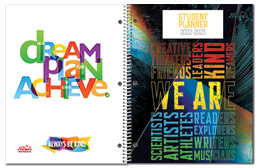 Non-Custom Middle School Planner Covers