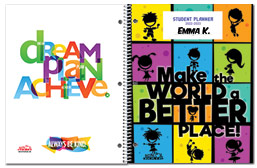Value Primary Student Planner Covers