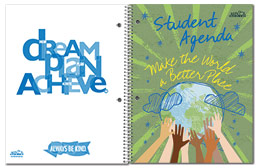 Undated Student Agenda Covers